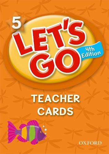 Let's Go: 5: Teachers Cards - Let's Go