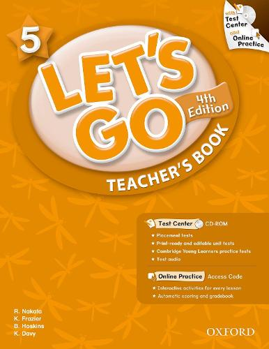 Let's Go: 5: Teacher's Book With Test Center Pack - Let's Go