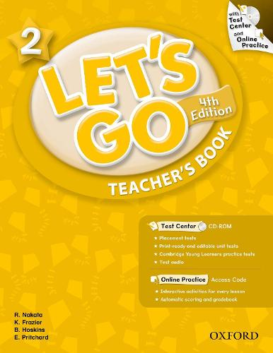 Let's Go: 2: Teacher's Book With Test Center Pack - Let's Go
