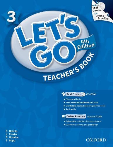 Let's Go: 3: Teacher's Book With Test Center Pack - Let's Go
