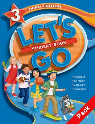 Let's Go: 3: Student Book and Workbook Combined Edition 3A - Let's Go (Paperback)