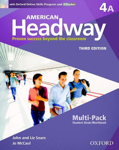 American Headway: Four: Multi-Pack A with Online Skills and iChecker: Proven Success beyond the classroom - American Headway