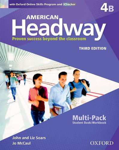 American Headway: Four: Multi-Pack B with Online Skills and iChecker: Proven Success beyond the classroom - American Headway