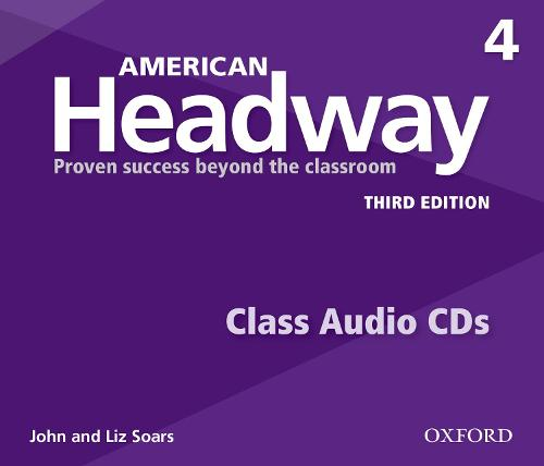 American Headway: Four: Class Audio CDs: Proven Success beyond the classroom - American Headway (CD-Audio)