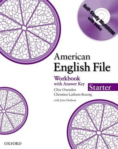 American English File Starter: Workbook with MultiROM - American English File Starter
