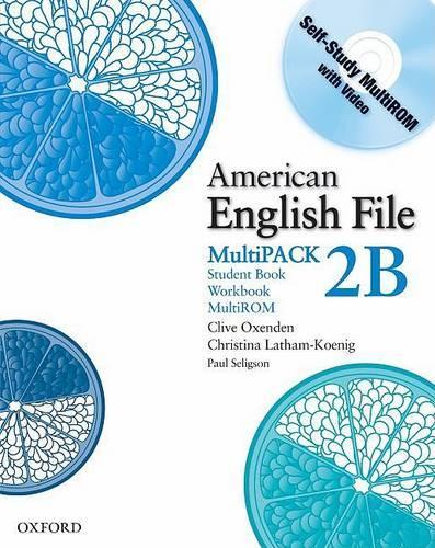American English File Level 2: Student Book/Workbook Multipack B - American English File Level 2