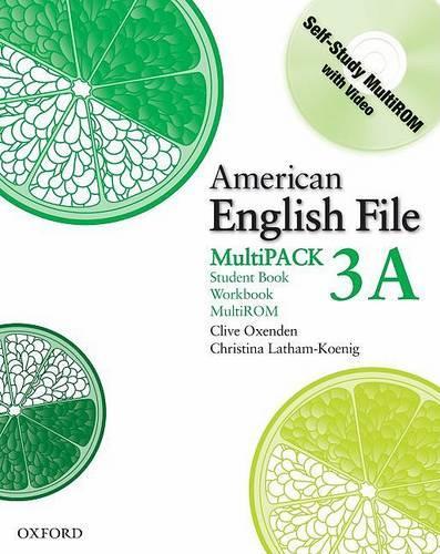 American English File Level 3: Student Book/Workbook Multipack A - American English File Level 3