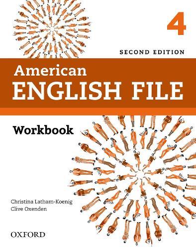 American English File: Level 4: Workbook - American English File (Paperback)