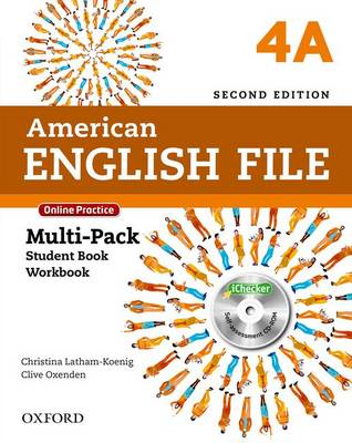 American English File: 4: Multi-Pack A with Online Practice and iChecker - American English File