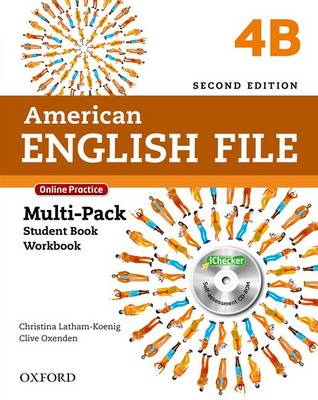 American English File: 4: Multi-Pack B with Online Practice and iChecker - American English File