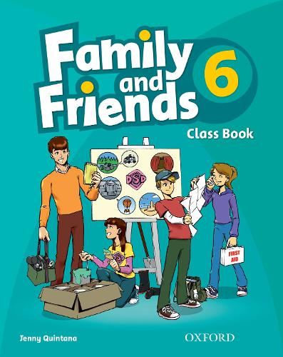 Family and Friends: 6: Class Book - Family and Friends (Paperback)