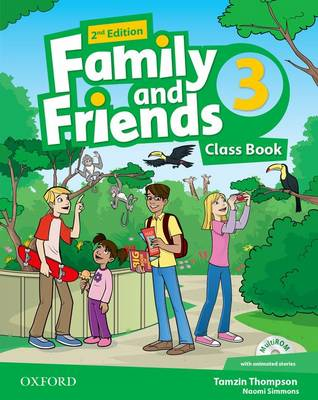 Family and Friends: Level 3: Class Book with Student MultiROM - Family and Friends