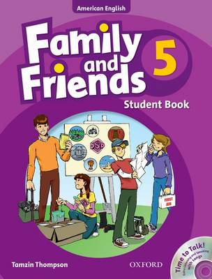 Family and Friends American Edition: 5: Student Book & Student CD Pack - Family and Friends American Edition
