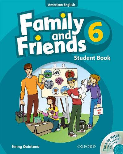 Family and Friends American Edition: 6: Student Book & Student CD Pack - Family and Friends American Edition