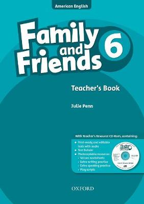 Family and Friends American Edition: 6: Teacher's Book & CD-ROM Pack - Family and Friends American Edition