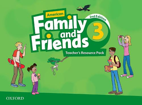 American Family and Friends: Level Three: Teacher's Resource Pack: American Family and Friends: Level Three: Teacher's Resource Pack Level 3 - American Family and Friends