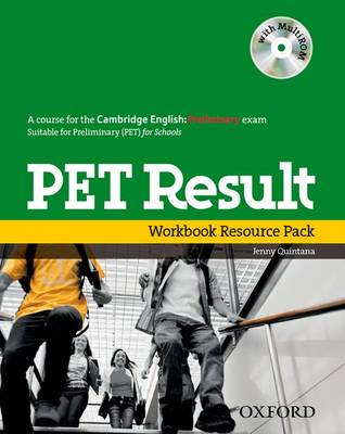PET Result:: Printed Workbook Resource Pack Without Key - PET Result:
