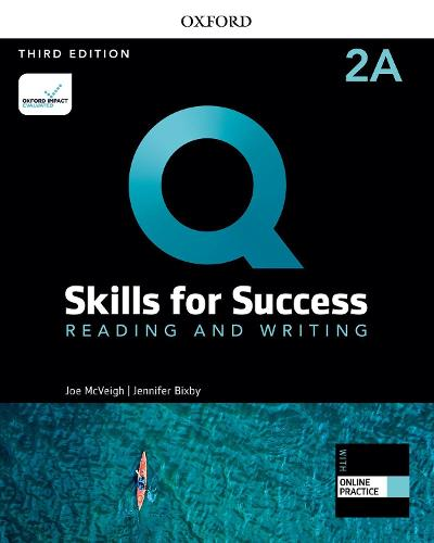 Q: Skills for Success: Level 2: Reading and Writing Split Student Book A with iQ Online Practice - Q: Skills for Success
