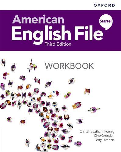 American English File: Starter: Workbook - American English File (Paperback)