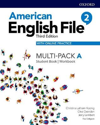 American English File: Multi-pack 2a Pack - American English File (Paperback)
