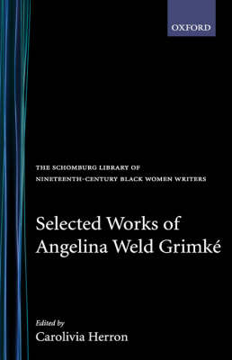 """the closing door by angelina weld grimke essay Jean toomer's cane and the erotics of mourning jennifer d  fiction writer angelina weld grimké  protagonist in """"the closing door"""" uses."""