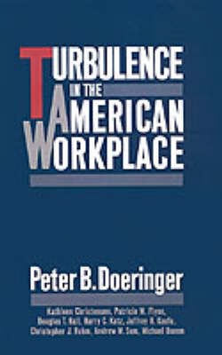 Turbulence in the American Workplace (Hardback)