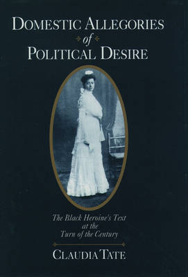 Domestic Allegories of Political Desire: The Black Heroine's Text at the Turn of the Century (Hardback)