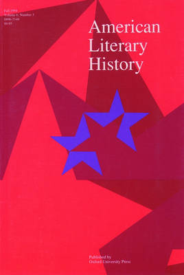 The American Literary History Reader (Paperback)