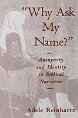 'Why Ask My Name?': Anonymity and Identity in Biblical Narrative (Hardback)