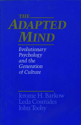 The Adapted Mind: Evolutionary Psychology and the Generation of Culture (Paperback)