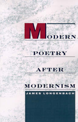 Modern Poetry After Modernism (Paperback)