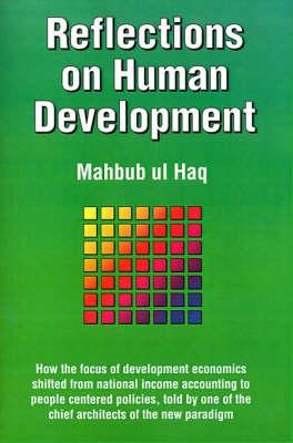 Reflections on Human Development (Paperback)