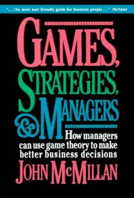 Games, Strategies, and Managers (Paperback)