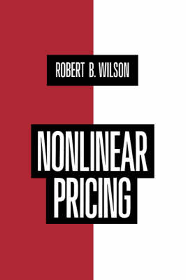 Nonlinear Pricing (Paperback)