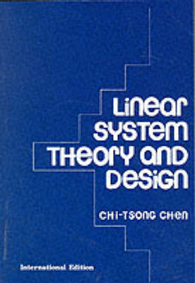 Linear System Theory and Design (Paperback)