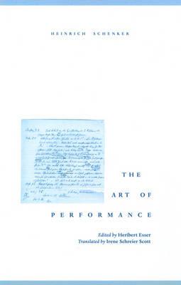 The Art of Performance (Hardback)