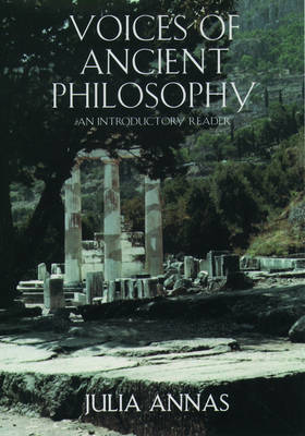 Voices of Ancient Philosophy: An Introductory Reader (Hardback)
