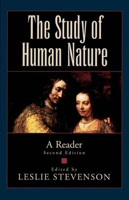 The Study of Human Nature: A Reader (Paperback)