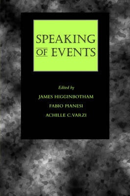 Speaking of Events (Paperback)