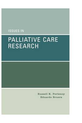 Issues in Palliative Care Research (Hardback)
