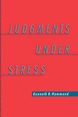 Judgments Under Stress (Hardback)