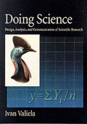 Doing Science: Design, Analysis, and Communication of Scientific Research (Paperback)