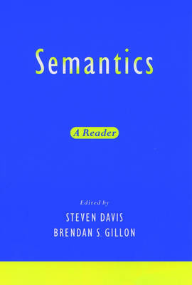 Semantics: A Reader (Paperback)