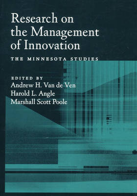 Research on the Management of Innovation: The Minnesota Studies (Paperback)
