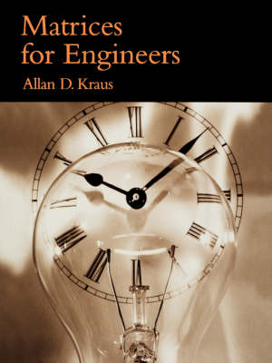 Matrices for Engineers (Paperback)