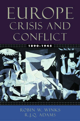 Europe 1890-1945: Crisis and Conflict (Paperback)