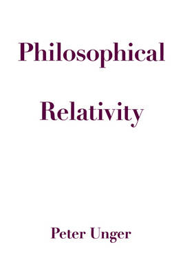 Philosophical Relativity (Paperback)