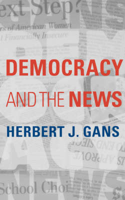 Democracy and the News (Paperback)