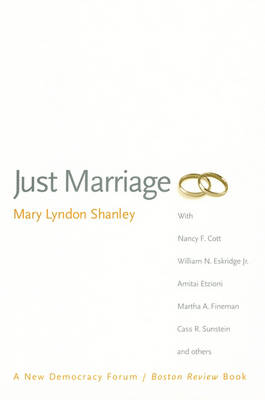 Just Marriage (Paperback)