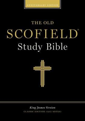 The Old Scofield (R) Study Bible, KJV, Classic Edition - Bonded Leather, Navy (Leather / fine binding)